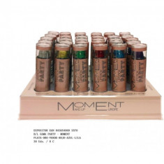 BARRA DE LABIOS 6 COLORES GAMA PARTY (0.60€ UNIDAD)PACK 30 MOMENT