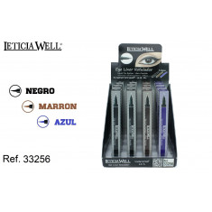 EYELINER ROTULADOR ULTRA-PRECISION 3 COLORES (1.2€'¬ UNIDAD)PACK 16  LETICIA WELL