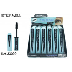 MASCARA DE PESTAÑAS  EXTENSION (0.85€ UNIDAD) PACK 24  LETICIA WELL