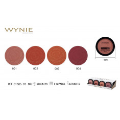 COLORETE UNDRESS YOUR SKING 4 COLORES (1.65€ UNIDAD) PACK 24  WYNIE                       PACK 24 WYNIE