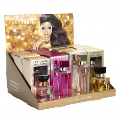 EXPOSITOR COMPLETO DE PERFUMES MUJER   FORTUNATE