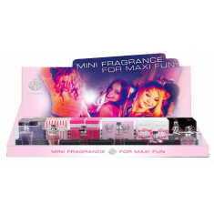 EXPOSITOR COMPLETO DE PERFUMES REAL TIME