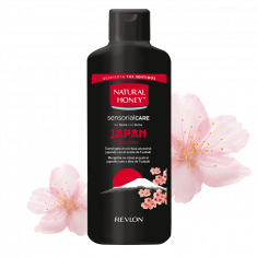 GEL DE BAÑO Y DUCHA  JAPAN SECRETS  750ML.  NATURAL HONEY