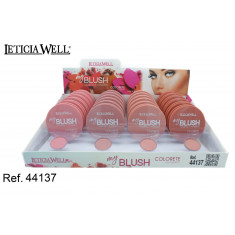 COLORETE MY BLUSH 4 COLORES(0.69€ UNIDAD) PACK 24  LETICIA WELL
