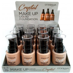 MAQUILLAJE FLUIDO CRYSTAL(1.25€ UNIDAD) PACK 16  D'DONNA