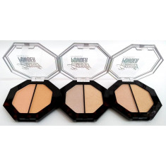 POLVO COMPACTO ILUMINADOR BEAUTY(0.745€ UNIDAD) PACK 24  D'DONNA