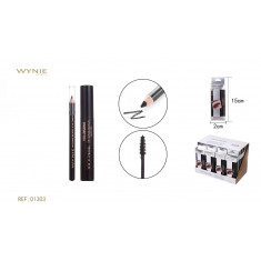 MASCARA + LAPIZ DE OJOS INTENSE BLACK(1.35€ SET) PACK 24  WYNIE