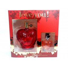 PACK EAU PARFUM  LOVE YOU!  REAL TIME