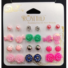 SET DE PENDIENTES SURTIDOS(0.50€ SET) PACK 12