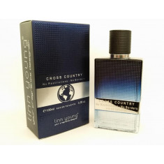 EAU DE TOILETTE  CROSS COUNTRY  POUR HOMME 100ML.  LINN YOUNG