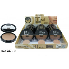 POLVO COMPACTO MATTE  FIT ME! (0.69€ UNIDAD) PACK 18  LETICIA WELL