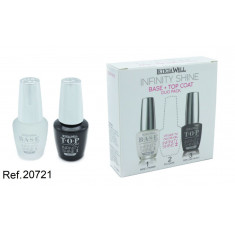 SET DE LACA DE UÑAS GEL INFINITY SHINE(0.75€ SET) PACK 12 LETICIA WELL