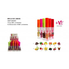 LIPGLOSS  +VE 6 SABORES(0.55€ unidad) PACK 36  EASY PARIS