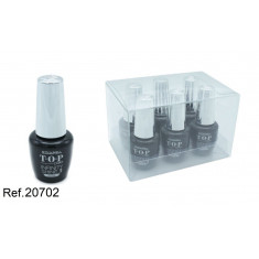 LACA DE UÑAS TOP COAT INFINITY SHINE(0.65€ UNIDAD) PACK 6 LETICIA WELL