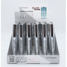 LIPGLOSS  TRANSPARENT TOP CLEAR(0.55€ UNITE)PACK 24  D'DONNA
