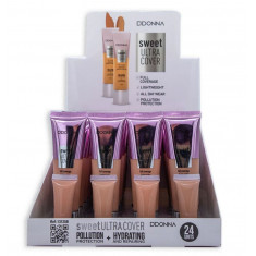 MAQUILLAJE FLUIDO SWEET ULTRA COVER(0.75€ UNIDAD) PACK 24 D'DONNA
