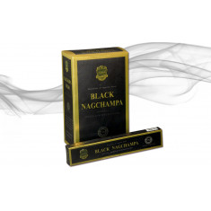 INCIENSO  NAG CHAMPA BLACK (0.67€ PAQUETE) PACK 12 PAQUETES  ANAND AGARBATHI