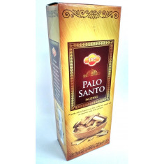 INCIENSO  PALO SANTO (0.35€ PAQUETE) PACK 6 PAQUETES  SANDESH AGARBATHI CO.