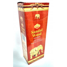 INCIENSO  SANDAL WOOD (0.35€ PAQUETE) PACK 6 PAQUETES SANDESH AGARBATHI CO.