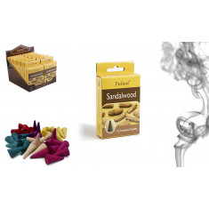 CONOS DE INCIENSO SANDALWOOD (0.32€ PAQUETE)PACK 12 SARATHI INTERNACIONAL INC