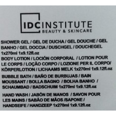PACK DE REGALO SCENTED BATH BRONZE IDC INSTITUTE