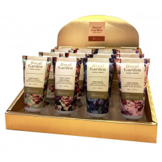 CREMA DE MANOS 4 AROMAS GARDEN(0.85€ SET) PACK 24 SETS IDC INSTITUTE